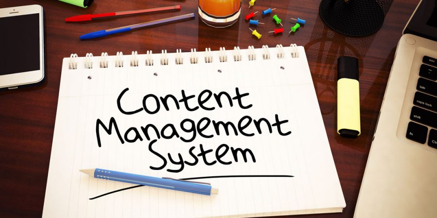 The benefits of using a Content Management System