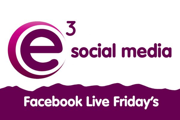 E3 Social Media, Facebook Live Friday's on Instagram
