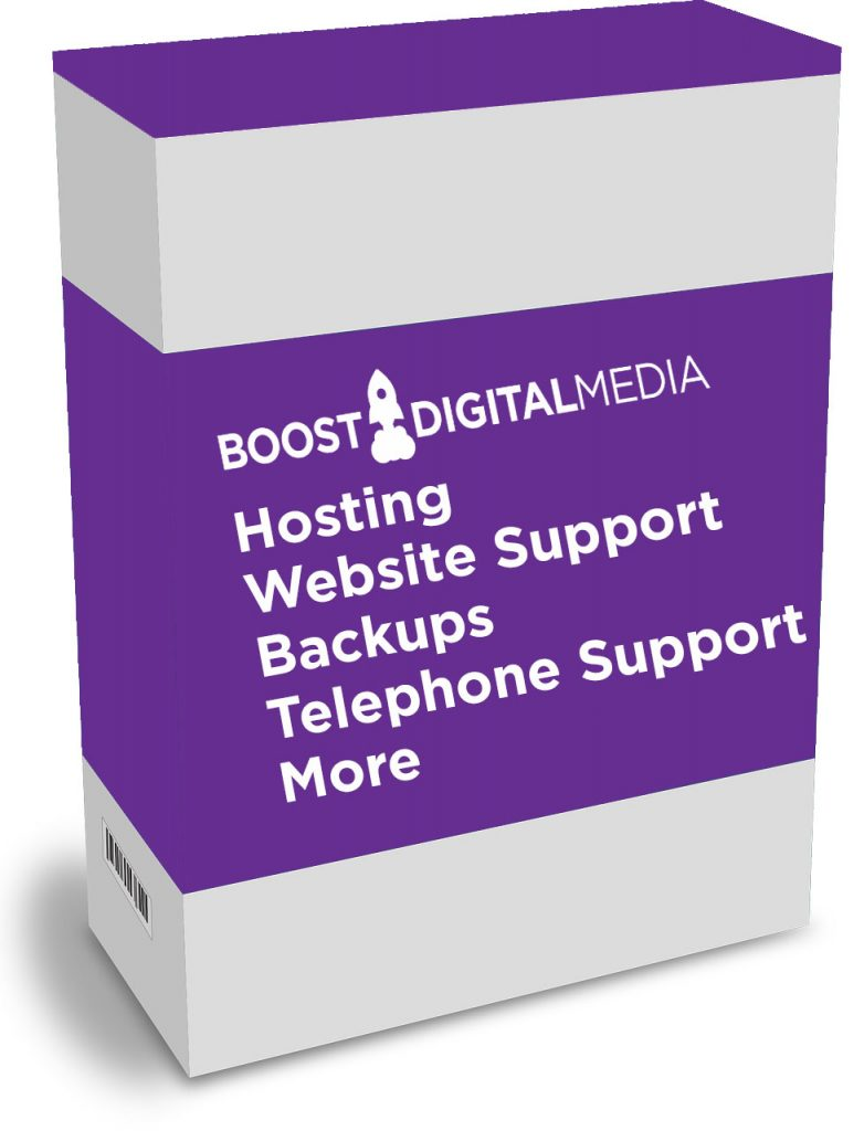 Website Support Packages now available from Boost Digital Media